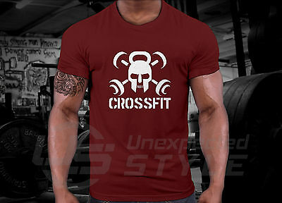 Crossfit GYM T-shirt WOD Functional Sport Training Workout Strength + YOUR NAME 8
