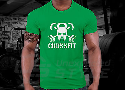 Crossfit GYM T-shirt WOD Functional Sport Training Workout Strength + YOUR NAME 7