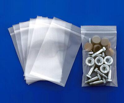 "Clear 4-Mil Ziplock Bags HEAVY-DUTY Reclosable Zip Top Plastic Zipper Poly Ml "" 6"