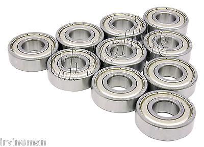 10 Bearing 604Z 4x12 Shielded 4x12x4 VXB Ball Bearings
