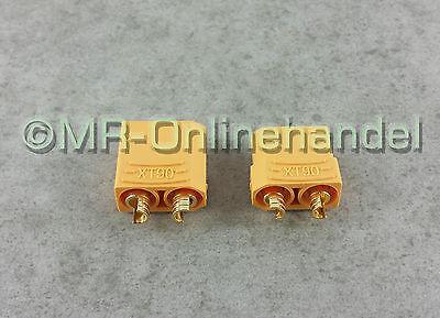XT90 Hochstrom Stecker Buchse Akku Nylon Goldstecker Lipo 2 Paar 4 Stück