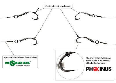 The black ronnie rig on silt braid  Carp Fishing Hair Rigs Tackle