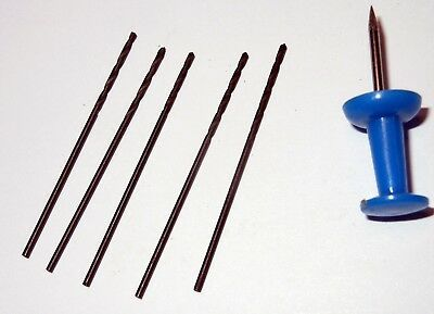 """1/32"""" High speed steel drill bits for Dremel etc, New 12Pieces 2"""
