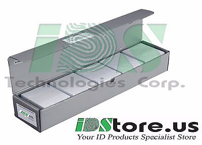 Blank White PVC Plastic ID Cards CR80-760 Micron Qty/'s 10-1000 Free P/&P