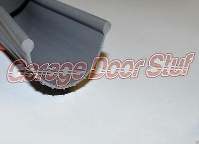 NEW Bottom Seal Bead Type Grey Vinyl Garage Door Weather Seal