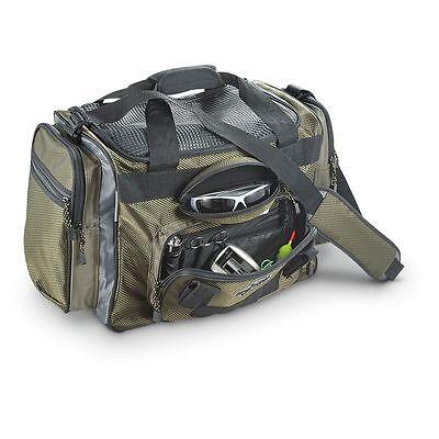 okeechobee fats deluxe large green fishing tackle bag heavy duty, Reel Combo