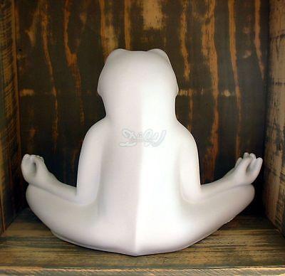 hLine Deko-Figur Frosch Yoga 63 cm f/ür Innen oder Garten