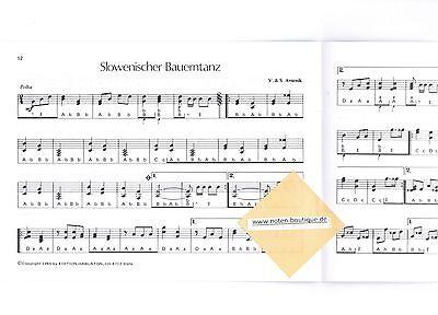 ms diat diatonische Handharmonika Noten 10 x Slavko AVSENIK Oberkrainer leMi