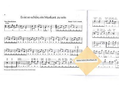 diat. Volkslieder diatonische Handharmonika Noten : Mein Heimatland leMitt