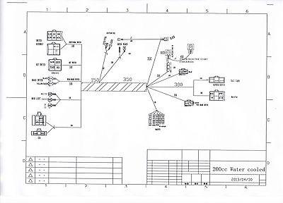 complete electrics wire harness wiring cdi stator 200 250 zongshen 2 rh picclick com 5 Pin CDI Wire Diagram Mini Cable Wire Diagram Us