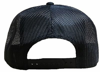 ... Jalisco Pemex Mexico Baseball Hat Mesh Trucker Color Black Snap Back  New Hat 3 bdf959584a6