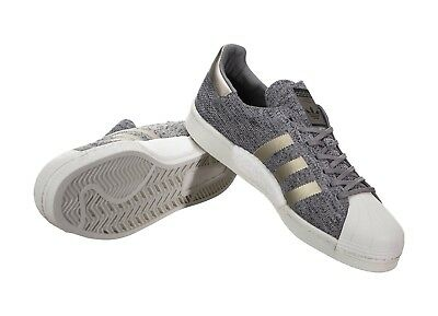 aa458fb07 ... Adidas Superstar PK BOOST Primeknit Grey White NMD Ultra Shoes BB8973  Mens Sz 13 6