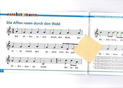 Weihnachtslieder Noten Für Glockenspiel.Glockenspiel Noten Meine Bunten Noten Kinderlieder 2 Sehr Leicht Farben
