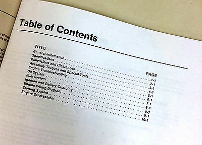John Deere 316 318 420 Lawn Garden and Onan Engine Technical Service Manual