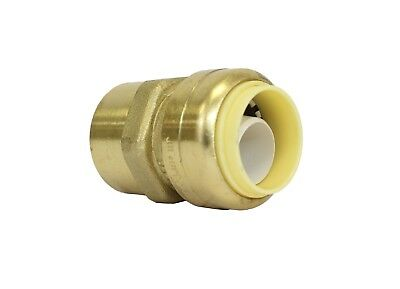 """1/2"""" Sharkbite Style (Push-Fit) Brass Female Adapter, Pack Of 10 Connect Fitting 3"""