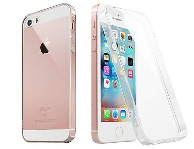 For iPhone SE Case Crystal Clear Rubber Shockproof Protective iPhone 5 5s Cover 3