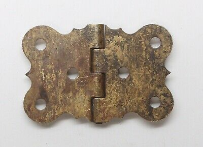 Antique Brass Butterfly Surface Cabinet Hinge 2