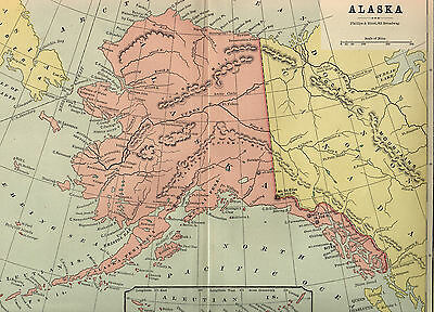 Alaska Mining Map In Diagram Free Printable Images World Maps - Map of the us in 1890