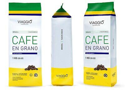 VIAGGIO ESPRESSO - 1 Kg. Café en grano tostado - BRASIL 2