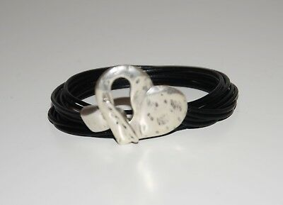 Bracelet Corazón-uno Différent de 50-hecha A Mano-Pulsera A Cordon