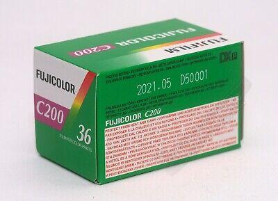 Fuji Fujicolour C200 35mm 36exp 3 Rolls Cheap Colour Print Film Exp Date 11/2021 3