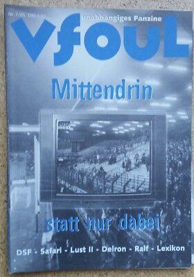 Fanzine vfoul 7Stück, VfL Bochum 1848