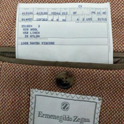 New Luxury Ermenegildo Zegna Mens Sport Coat Shooting Blazer UK 38R RRP £1685 8