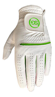 5 SG Men All weather golf gloves Cabretta leather palm patch and thumb 5 colors 5