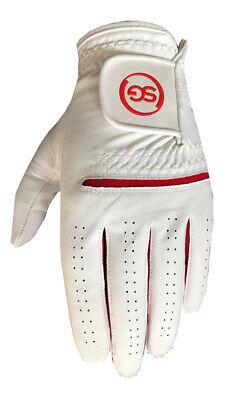 5 SG Men All weather golf gloves Cabretta leather palm patch and thumb 5 colors 4