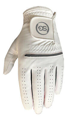 5 SG Men All weather golf gloves Cabretta leather palm patch and thumb 5 colors 3