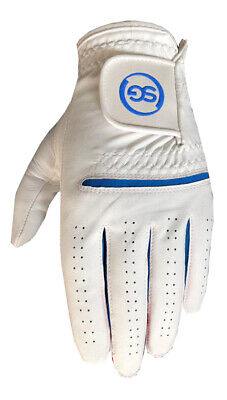 5 SG Men All weather golf gloves Cabretta leather palm patch and thumb 5 colors 2