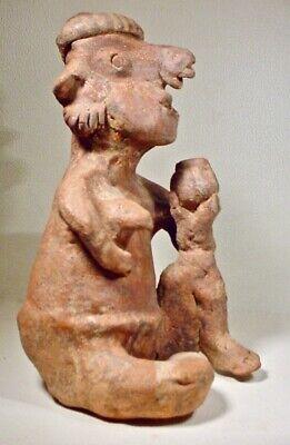 Pre-Columbian Nayarit Couple Ex Sothebys '78 11