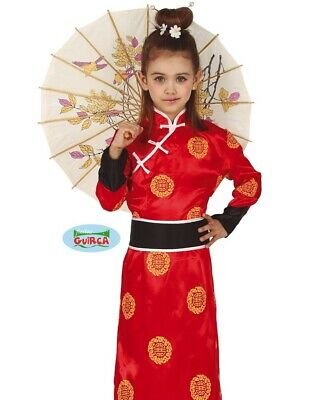 Childs Girls Chinese Fancy Dress Costume Kids China Girl Oriental Outfit fg 4