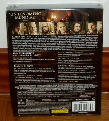 Juego De Tronos Game Of Thrones 5º Temporada Completa 4 Blu-Ray-Nuevo Castellano 2