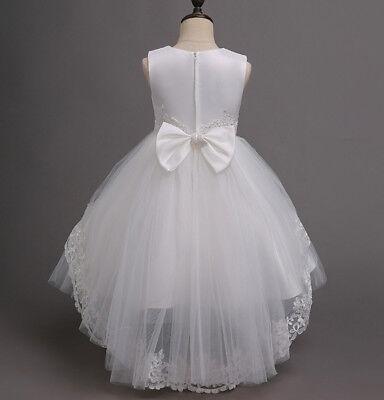 Vestito Damigella Comunione Abito Bambina Girl Party Bridesmaid Dress COM001