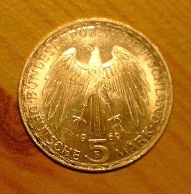 5 Dm 1969 F Gerhard Mercator Sehr Schöne Sammler Münze