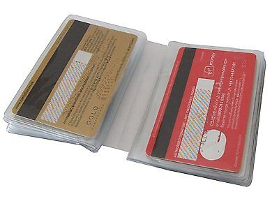 Replacement Credit Card Sleeve Inserts Portrait / Landscape All Sizes- 6, 12, 20 3
