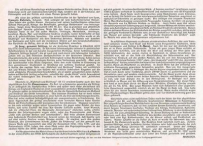 Kunstbeilage Medizinische Wochenschrift  1910 No. 27 Bedeutende Ärzte