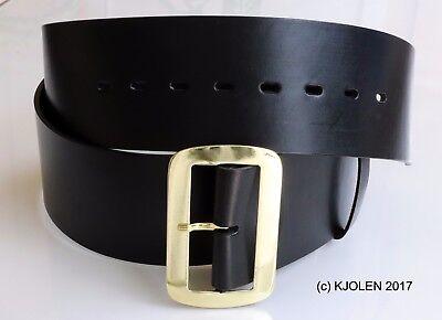 "Santa Claus Belt Bullhide Full Grain Leather 3"" In Christmas Pirate Gold Silver 2"