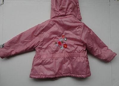 Bondi Jacke Winterjacke für Mädchen in Gr.98 Rosa 2