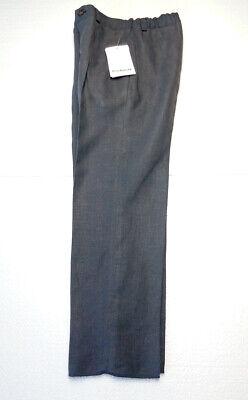 Kinder Jungenhose Cacharel Marke grau 6 Jahre Leinen 118 cm gerade UVP £ 140 2