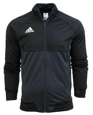 ADIDAS TIRO 17 Full Mens Zip Tracksuit Jogging Top Bottoms 3 Stripe Size S XXL