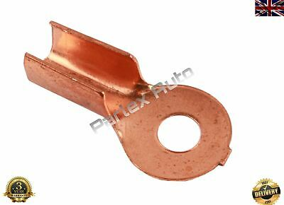1X 10-25 mm2 8-4 AWG Open Cable Non insulated Ring Battery Copper Lugs Terminal 6