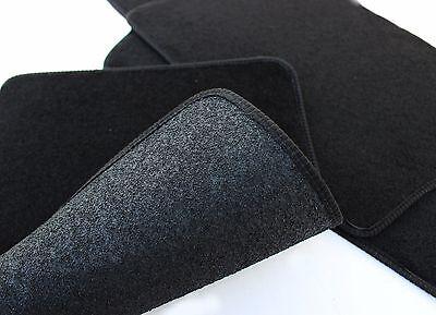 Fußmatten Autoteppiche Velours für FIAT Tipo SEDAN ab 2015 schwarz Bef.rund