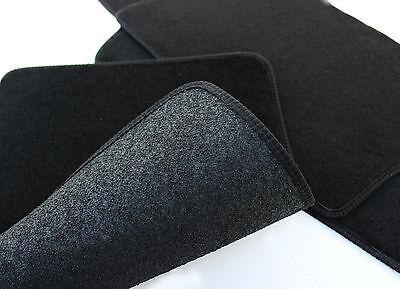 Velours Fußmatten Autoteppiche mit LOGO für SUZUKI SWIFT ab 2010 4tlg Bef. rund