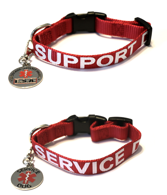 ALL ACCESS CANINE™ Service Dog Emotional Support Animal ESA Dog Collar and Tag 3