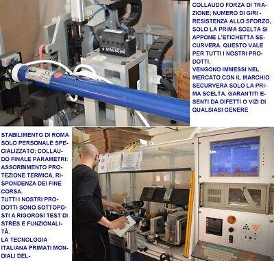 Tapparella Automatica Serranda Avvolgibile Da 40 Kg Per Motore Elettrico 220 V 9