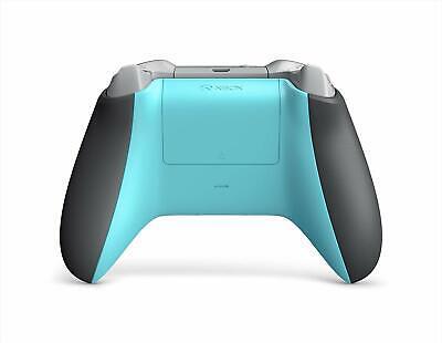 Microsoft Xbox One Wireless Controller Grey/Blue WL3-00105 4