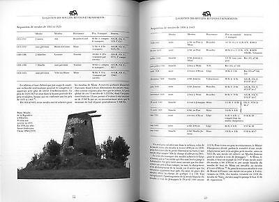 Moulins en Hainaut Hannonia  Mühlengeschichte Müller Windmühlen Mühlentechnik 6