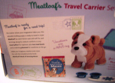 American Girl Meatloaf's Travel Carrier Set Bulldog Accessories - RETIRED 2